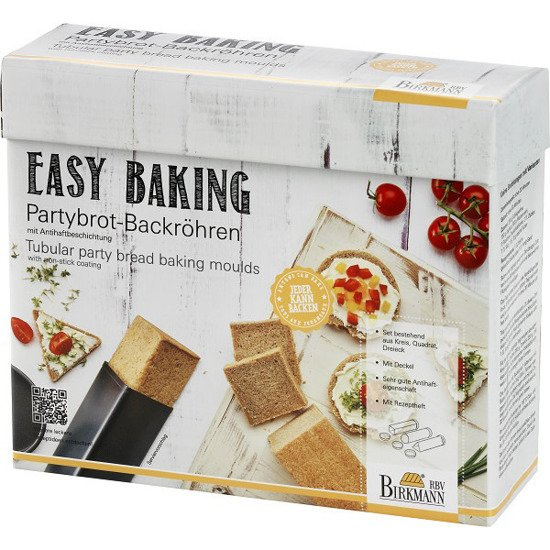 Forma do Pieczenia Chleba - 3 sztuki - Easy Baking Birkmann